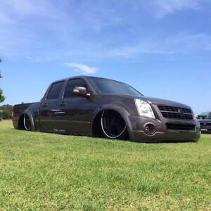 Highly Modified Bagged and Bodied Elite Level 2004 Holden Rodeo