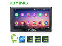 """Superfast Joying 7"""" Android Quad core car stereo head unit with dashcam"""