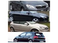 Wanted golf Astra Fabia Focus