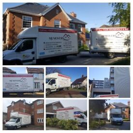Mansfield Man and Van and House Removal Service - MJ MOVERS - 24/7 5* available on short notice M