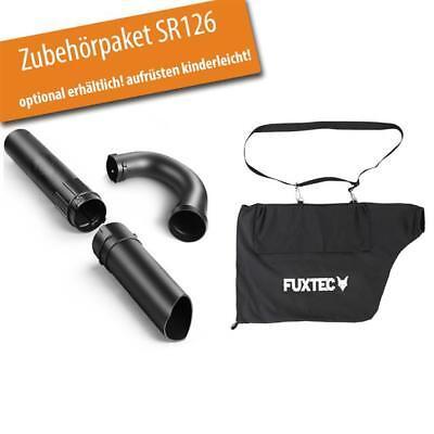 FUXTEC 2in1 Benzin Laubbläser Laubsauger Bläser Sauger Häcksler Gebläse
