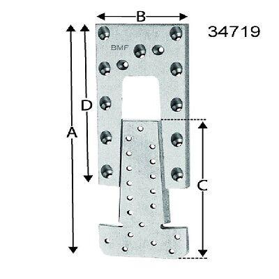 Set a 10 Passverbinder ET90 BMF 2tlg. ETB90-B*1924