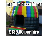 Disco dome hire Kent