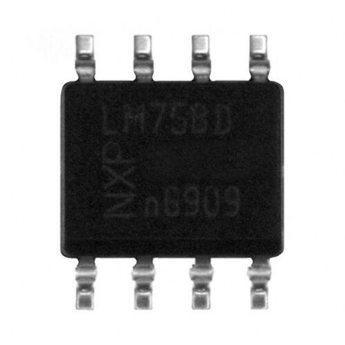 10pc LM75BD Digital Temperature Sensor; LM75 LM75A LM75B SO8 National Semi USA