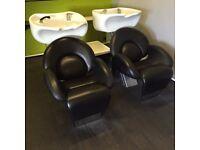 Salon Backwash Units & Basins
