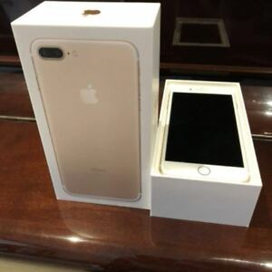iPhone 7 Plus , 128GB, gold , factory unlocked, with AppleCare