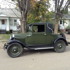 1927 Chevrolet Capitol AA Coupe running order