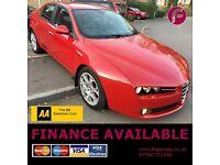 1 Year Warranty + AA - Complete Alfa Romeo Service History - NO Advisory MOT - 159 Lusso DIESEL 1.9