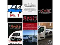 Tring Local cheap car breakdown recovery service 247 Mr T Amg 24/7 A41 Decorum