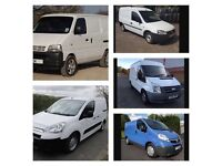 We buy vans for cash with or without MOT