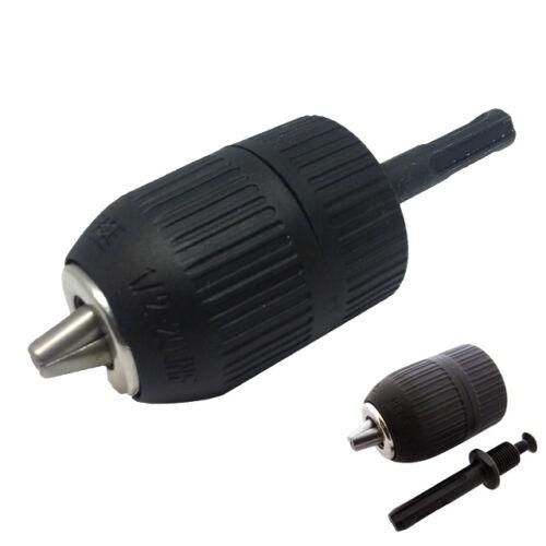 "SDS Plus Shank  to 1/2"" 20 UNF  Keyless Chuck Adapter Impact Drill 3-Jaw 2-13mm"
