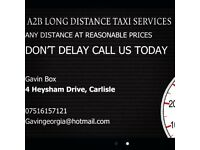 A2B LONG DISTANCE TAXI SERVICES
