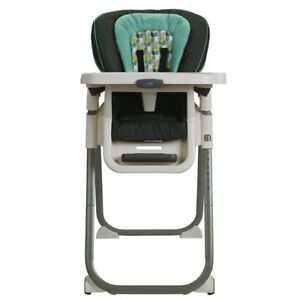 Graco TableFit Rittenhouse High Chair, Blue/Gray