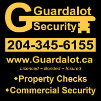 Home & Cottage Checks - Guardalot Security - Lac du Bonnet
