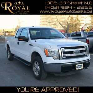 2013 Ford F-150 SuperCab PWR EVERYTHING, INT PHONE