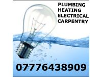 PLUMBER - ELECTRICIAN-CARPENTER