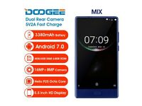 doogee mix. 4GB RAM. 64 ROM .BETTER THAN SAMSUNG S7 and iphone 7 unlocked to any network