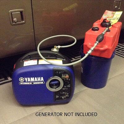 Yamaha Ef2000is Generator 3 Gal Ext Run Marine Fuel System Single Line
