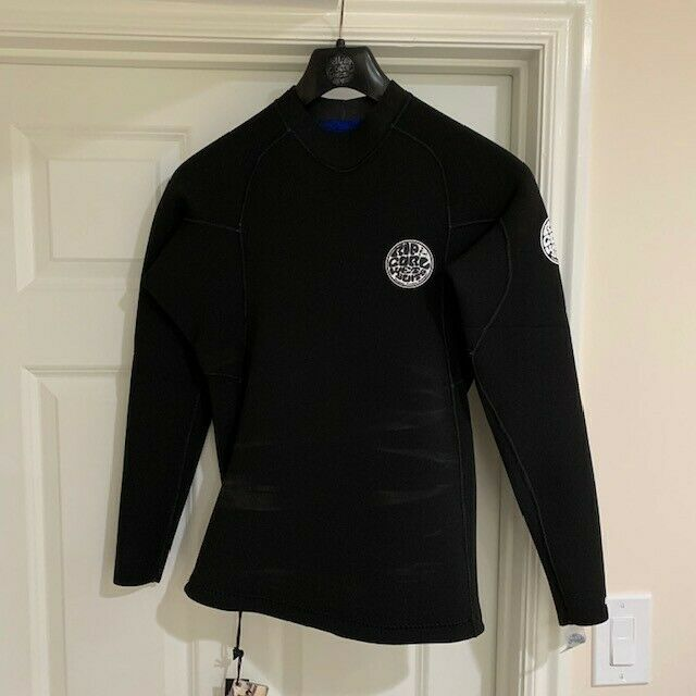 Rip Curl E Bomb 1.5mm Long Sleeve Wetsuit Jacket. Size Large