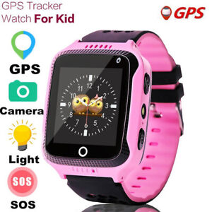 """New Smart Watch Kids GPS Tracker with Flash Light 1.44"""" Touch Sc"""