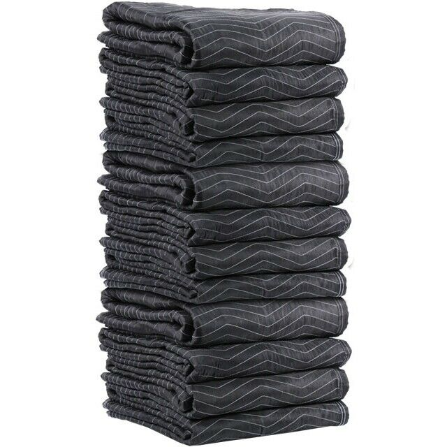 Moving Blankets - Preferred Mover 12 Pack - 78-80 lbs/dozen