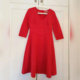 New Boden red dress for sale
