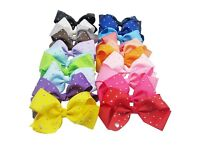 8 inch jojo bows various colours