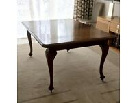 Beautiful antique dining table c.1900 in excellent condition. £145 ono.