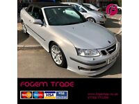 UNBEATABLE PRICE! Saab 9-3 Aero CONVERTIBLE 2.0T - Excellent Condition - Amazing Specification!!