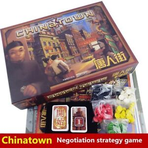 CHINATOWN-Zman Games (lightly played) (out of print)