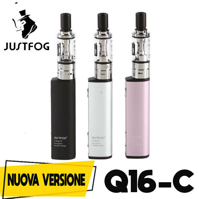 JUSTFOG Q16 C nuova versione STARTER KIT SIGARETTA ELETTRONICA 900 MAH