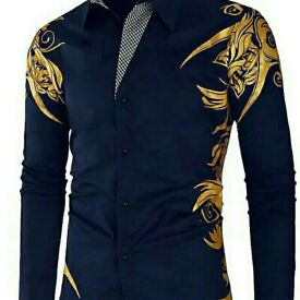 Men's Shirt Long Sleeve Personalized Fashion Casual