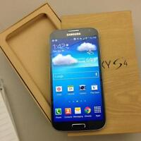 Samsung S4 New condition in box & unlocked all carrier