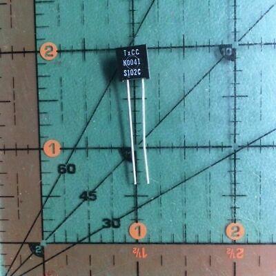 Vishay Precision Foil Resistor 100k Ohm .25 S102c Y0007100k000c0l Radial New X1