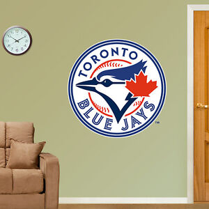 Toronto Blue Jays Fathead Logo Wall Sticker Removeable Reuseable