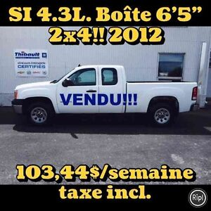 """2012 GMC SIERRA 1500 2WD EXTENDED CAB 2X4 4.3 LITRES BOÎTE 6'5"""""""
