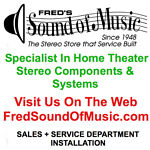 Fred's Sound of Music Audio Video