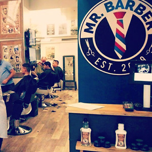 Free Men's Cuts  and Hot Shaves