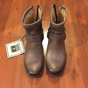 Frye Phillip Harness Boots, Size 5.5, Brand New Condition