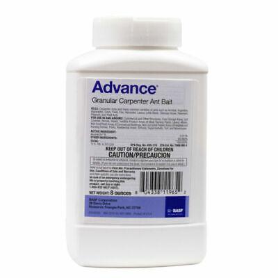 2 Bottles 8 oz Advance Granular Carpenter Ant Control Bait ( 16 Oz total )