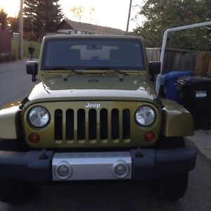 2008 Jeep Wrangler Sahara SUV Crossover LOOK HERE FOR GREAT DEAL