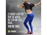 ZUMBA ® FITNESS CLASS/£4