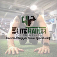 EliteTrainer // Personalized Fitness and Nutrition Services