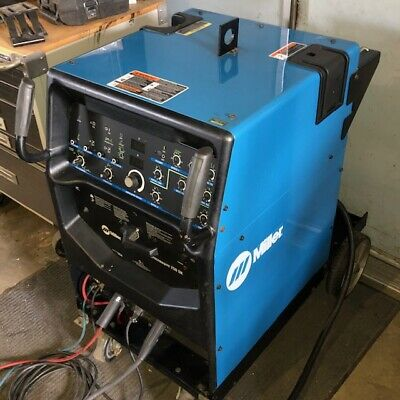 Miller Syncrowave 250 Dx 90719403-1 Tig Welder With Cart Accessories Year 2005