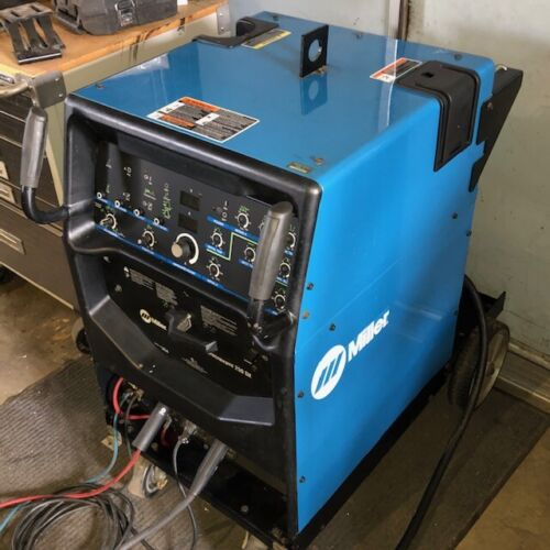 Miller Syncrowave 250 DX 90719403-1 TIG Welder with Cart & Accessories Year 2005