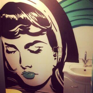 Graffiti / Design / Illustration /  Mural / Artist FREE ART Sydney City Inner Sydney Preview