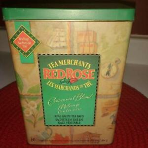 Red Rose Collectible Tin