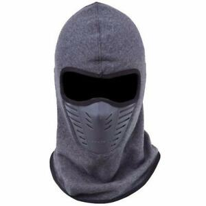 I Need That! Dust-Proof Cycling Face Mask Windproof Winter Warmer Fleece Bike Full Scarf Neck Bicycle Snowboard Ski Men