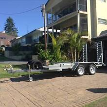 Car/Equipment Tandem Trailer Marks Point Lake Macquarie Area Preview