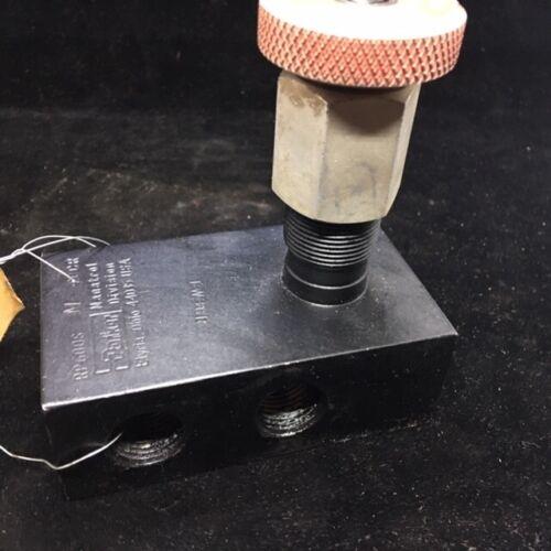Parker Pressure Reducing Valve  PR600-S-M by Parker Fluid Power 3/8 NPT 50-1000